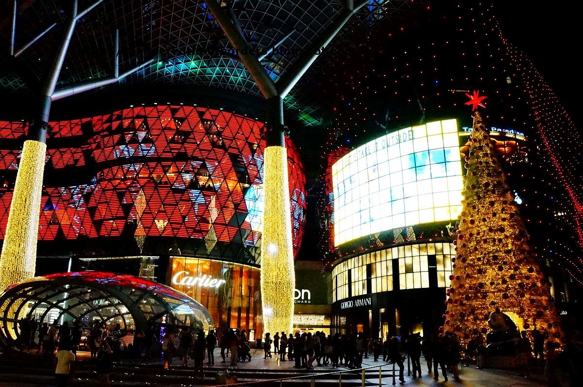 ION Orchard, Christmas decorations, Orchard Road, Singapore