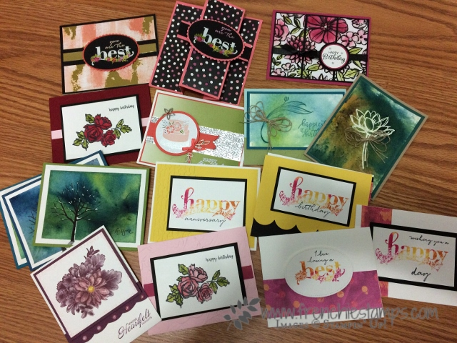 Stampin'Up! Occasion Catalog, Sale a Bration, Live with Frenchie