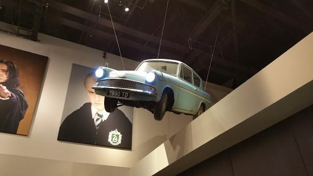 exposição do museu Harry Potter