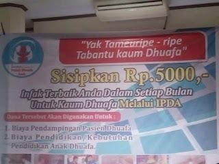 LPDA Loncing Program Rp.5.000 Dari anda Untuk Dhuafa