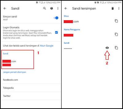 Cara Melihat Sandi yang Tersimpan di Chrome Android 2