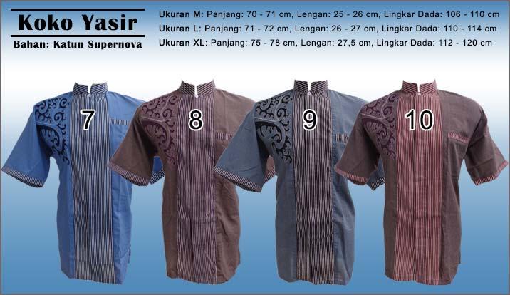 Baju Koko Pria Model Bordir Lengan Pendek Murah Trend