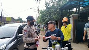 Binmas Sindangsari Polsek Paseh Polresta Bandung, Imbauan Prokes 3M Jelang Pilkada Kondusif
