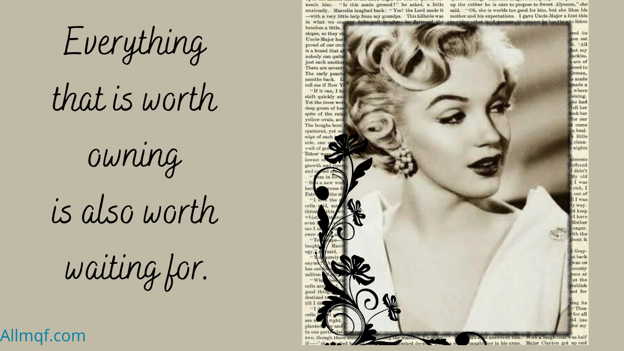 Most Famous Marilyn Monroe quotes