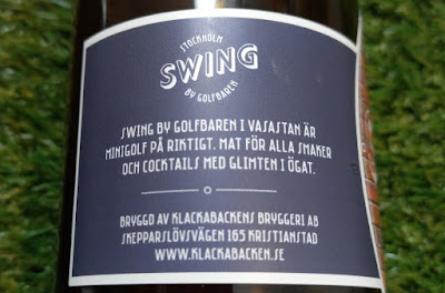 Session Ale from Swing by Golfbaren in Stockholm