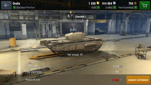 Tips Main World of Tanks Blitz: Heavy Tanks Churchill I