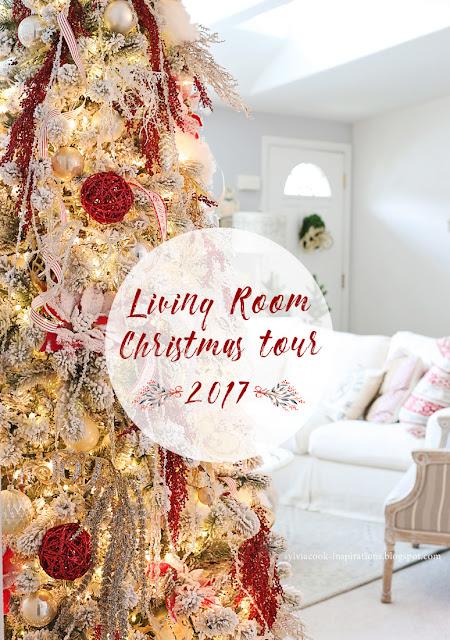 Inspirations Christmas Living Room Tour 2017