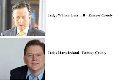 Ramsey County Judges - Judge William Leary III, Judge Mark Ireland
