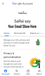How to know which apps or websites are linked with Email