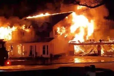 تفسير حلم حريق البيت لابن سيرين