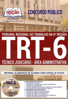 apostila-trt-pe-6-regiao-2018-tecnico-judiciario-area-administrativa