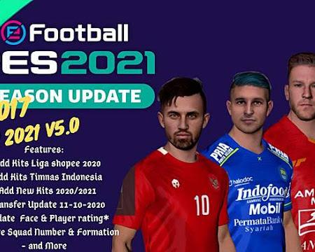 PES 2017 RZ Mods Season 2020/2021 V5 (NSP Patch)