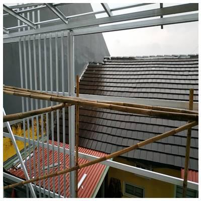 Bagus Atap Baja Ringan Atau Kayu Pemeliharaan Struktur Beton Dan