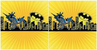 Batman: Mini Kit para Fiesta para Descargar Gratis.