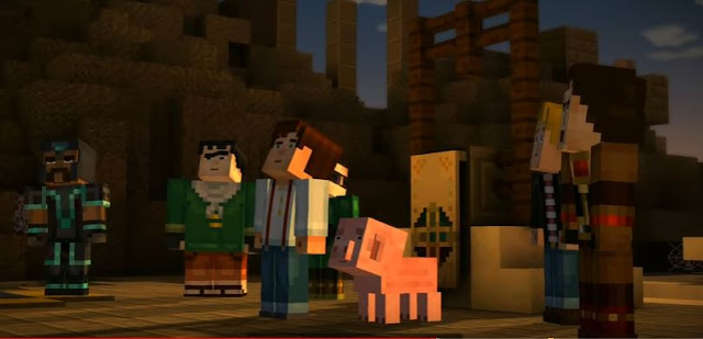Minecraft Story Mode Season 1 All Episodes PC Game Download Complete Setup Direct Download Link
