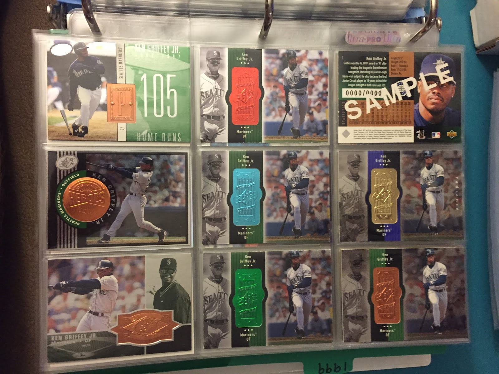 The Junior Junkie The Baseball Cards Of Ken Griffey Jr