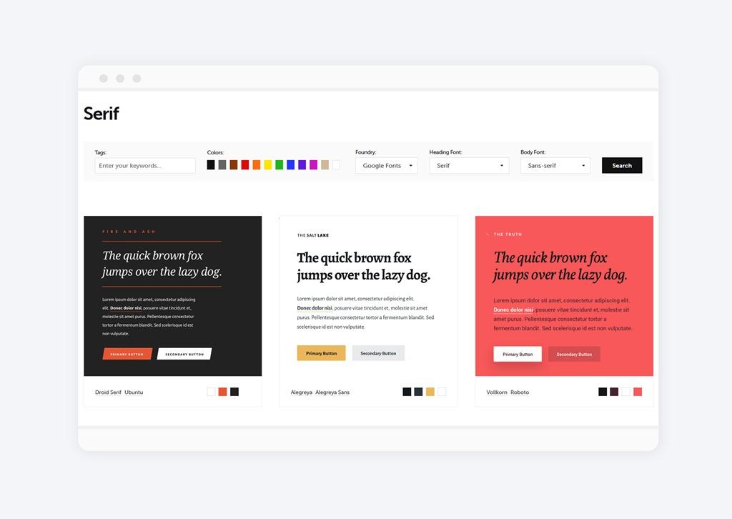 Jak wybrać fonty na bloga?  Typespiration