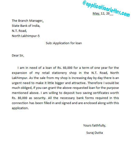 request letter to bank manager for education loan repayment