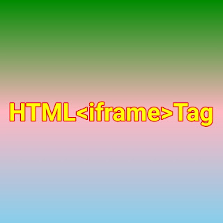 HTML <iframe> tag