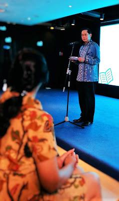 Sambutan dari Jahja Setiaatmadja sebagai Presiden Direktur BCA