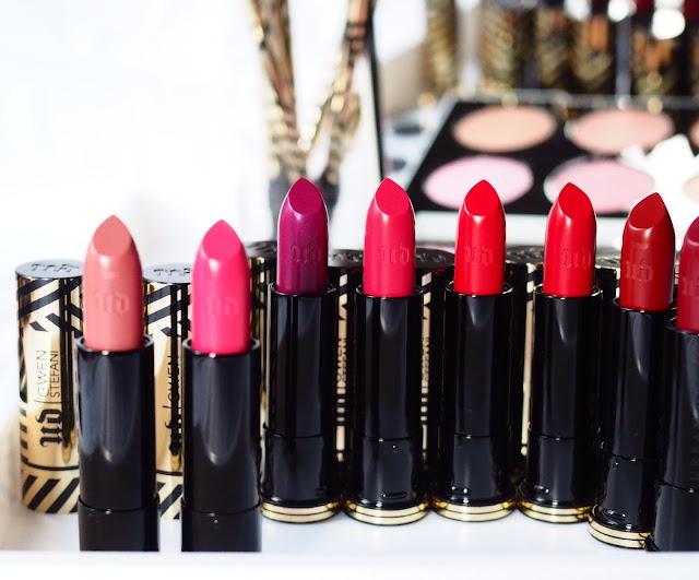 Urban Decay #UDxGwen Gwen Stefani Collection - Lipstick collection