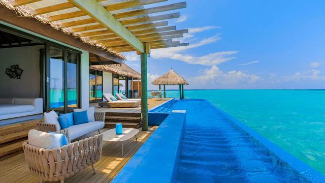Vacaciones paradisiacas isla Maldivas