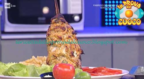 Ricetta Kebab La Prova Del Cuoco.Kebab Di Pollo Ricetta Andrea Mainardi Da Prova Del Cuoco