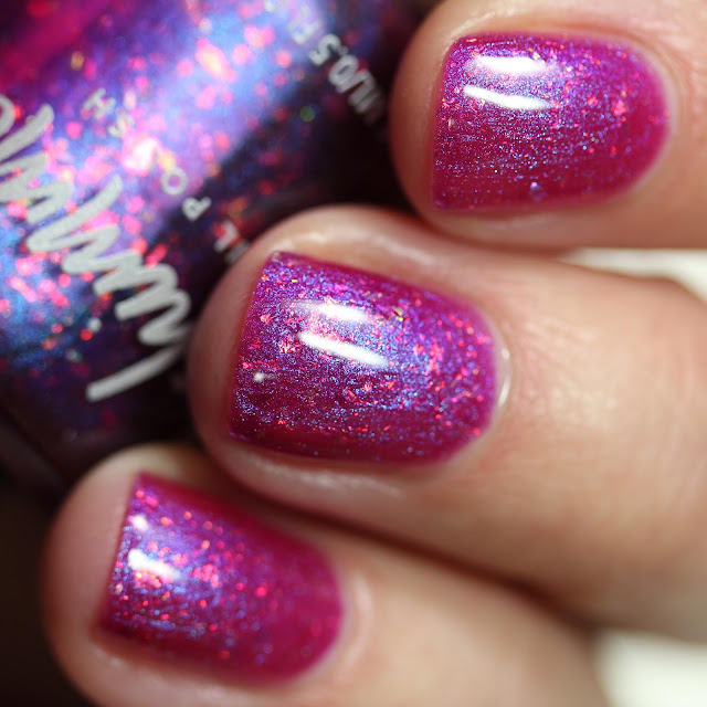 KBShimmer Foreseeable Fuchsia swatch