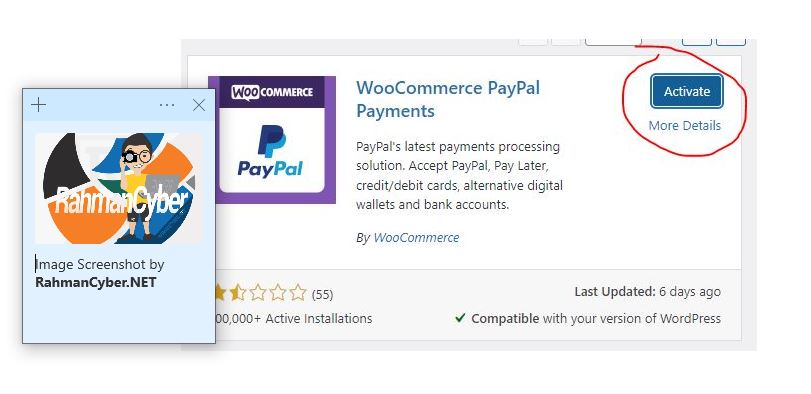 woocommerce paypal payments install