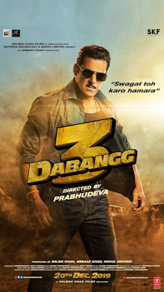 Dabangg 3 new upcoming movie first look, Poster of Salman, Sonakshi next movie download first look Poster, release date