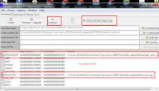 Cara Pasang Twrp Lenovo A859 via Flashtool