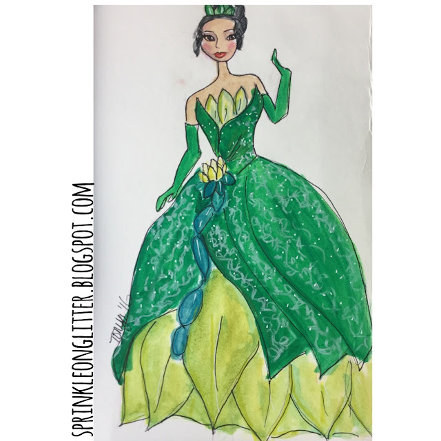 Sprinkle On Glitter Blog// Disney Princess//Tiana