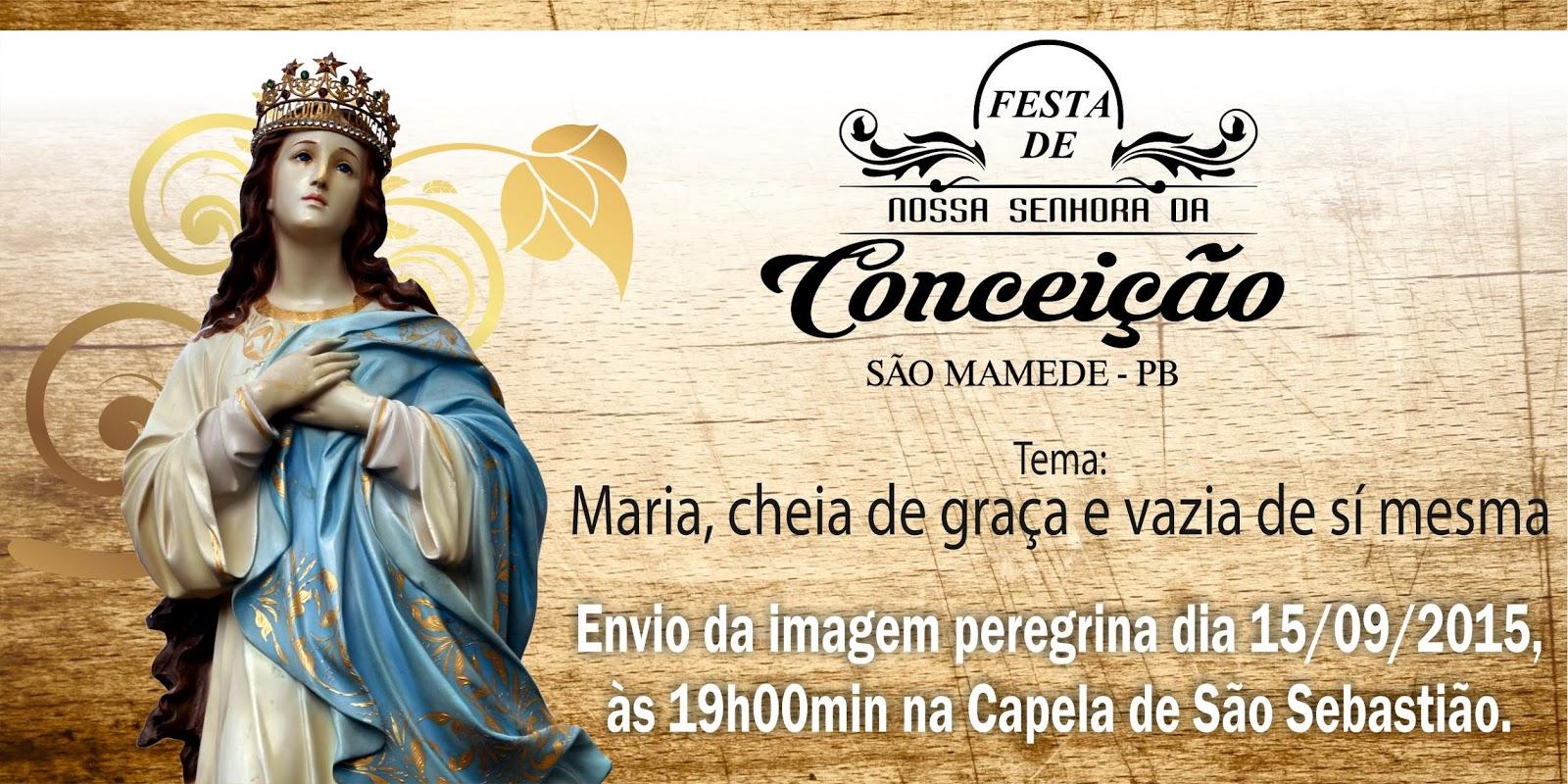 Icatolica Com Nossa Senhora Da Conceição Aparecida: São Mamede 1: Envio Da Imagem Peregrina Da Padroeira De