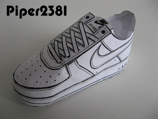 Nike Mid Top Tennis Shoes