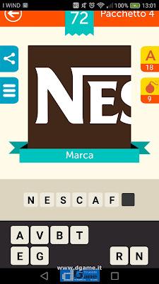 Iconica Italia Pop Logo Quiz soluzione pacchetto 4 livelli 72-75