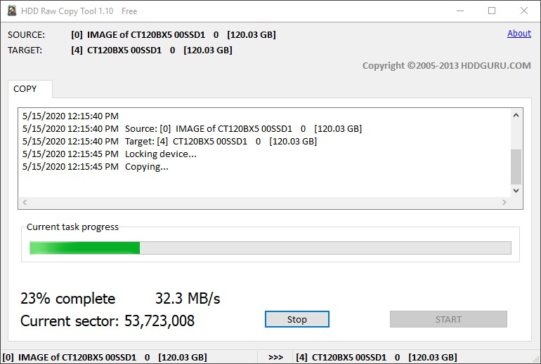 Come copiare settore per settore interi hard disk