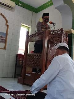 Jumat keliling, Kapolres Pangkep ajak Masyarakat jaga Silaturahmi Jelang Pilkada Serentak 20202