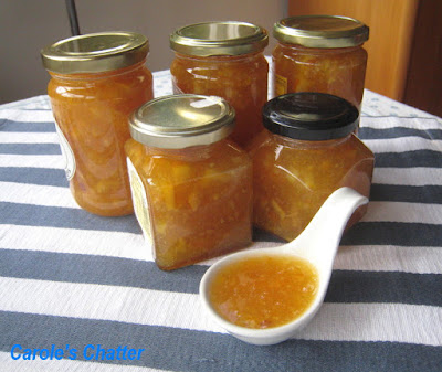 Carole's Chatter: Orange Marmalade with a hint of Vanilla & Whiskey – well worth a reprise