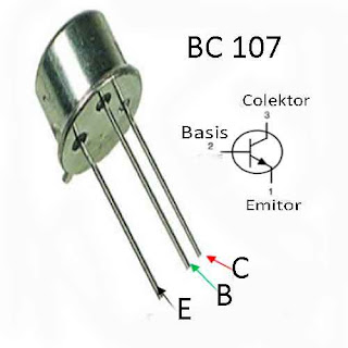 Persamaan Transistor BC107