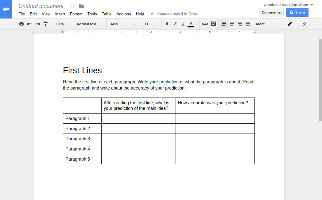 Learning Blog 5 Paperless Reading Comprehension Activities – Qar Worksheet