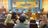 Dinsos Kota Bima Gelar Sosialisasi Pendampingan PKH