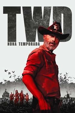 Capa Nona Temporada de The Walking Dead