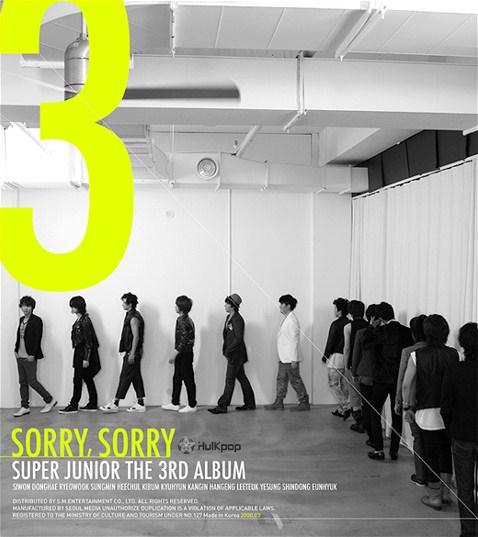Super Junior – Vol.3 SORRY, SORRY (ITUNES PLUS AAC M4A)