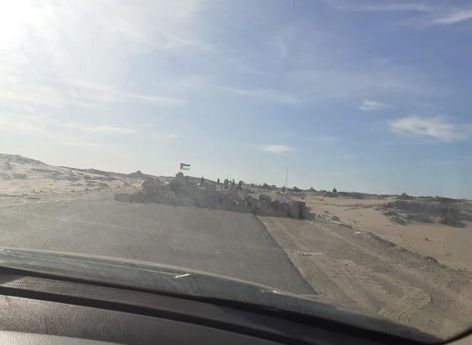 """🔴 ورد الآن : إغلاق كلي لثغرة """"الگرگرات"""" جنوب الصحراء الغربية، والأمم المتحدة ترسل قواتها إلى المنطقة."""