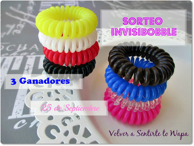 SORTEO: 3 packs INVISIBOBBLE
