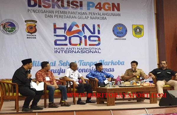 Peringatan Hari Anti Narkotika Internasional (HANI) Kota dan Kabupaten Bogor 2019