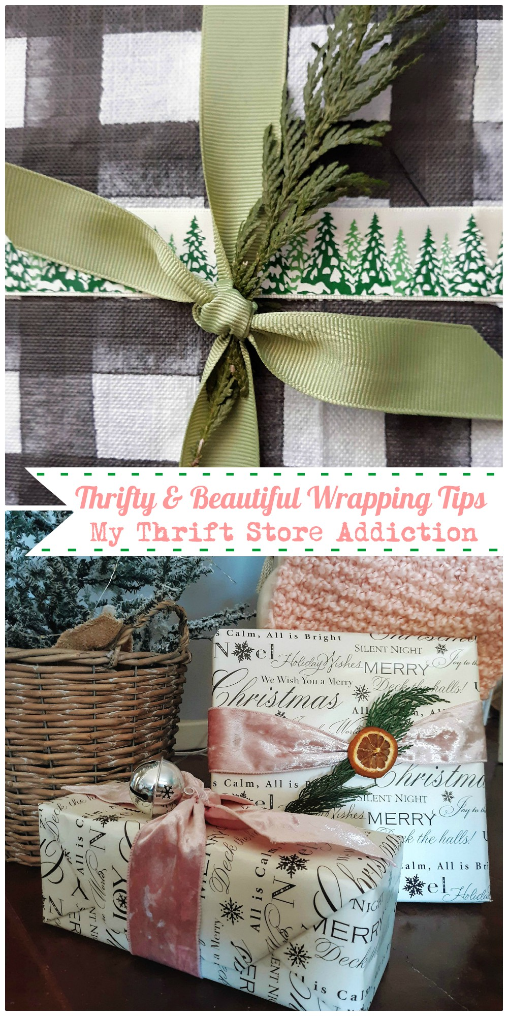 Thrifty & beautiful wrapping tips