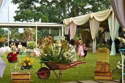 19+ dekorasi ulang tahun garden party terbaik simpel dan