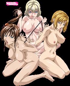 Bible Black - Imari Kurumi, Jody Crowley, Kitami Reika Render 1 [Yoshiten]