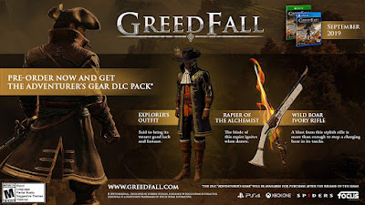 Greedfall Game Features